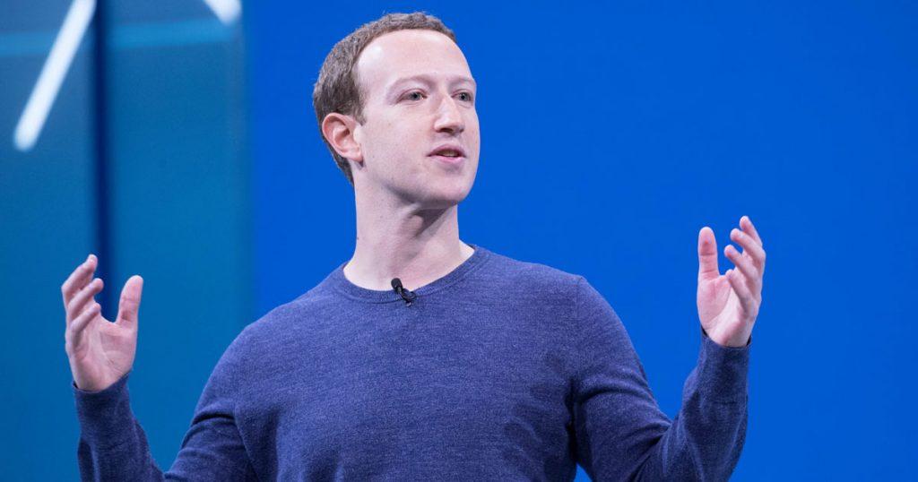 mark zuckerberg durante facebook f8