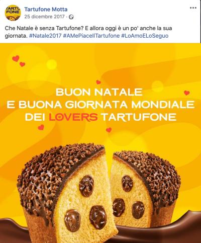 tartufone natale